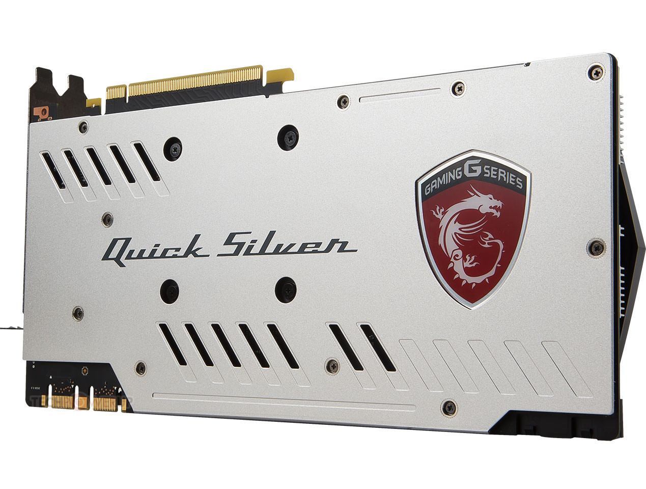 MSI announced their new GTX 1070 Quick Silver GPU