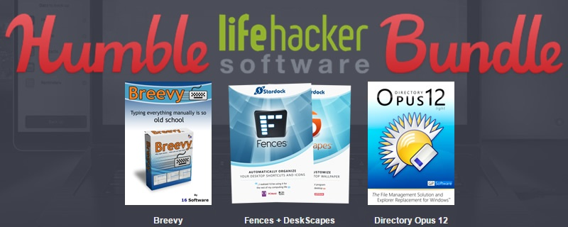 Humble Lifehacker software Bundle