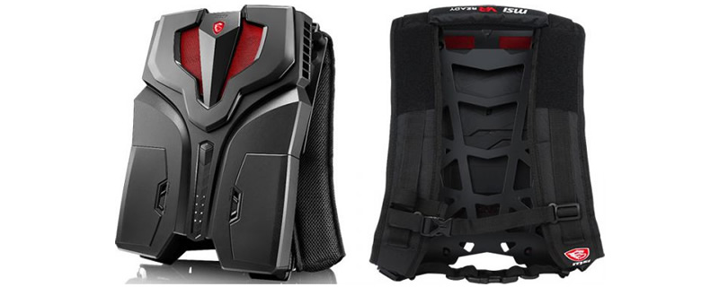 MSI's VR backpack is now available to Pre-order in the US