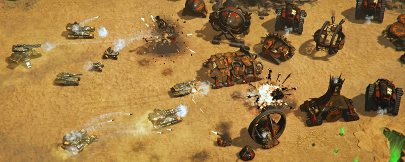 Meet Reconquest, the new 90's inspired RTS