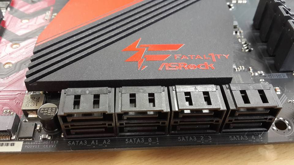 AsRock's FATAL1TY Z270 K6 has been pictured