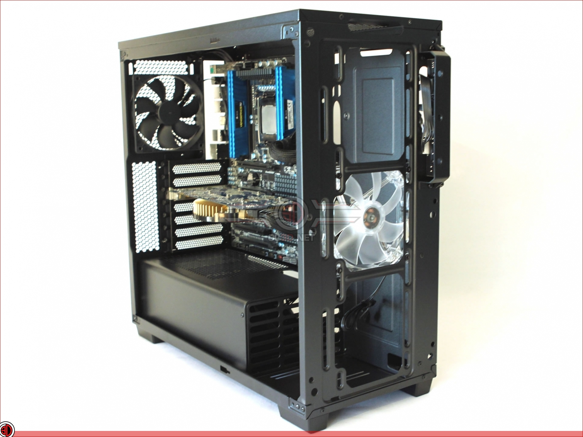 Corsair Carbide 270r Review The Build Cases Amp Cooling