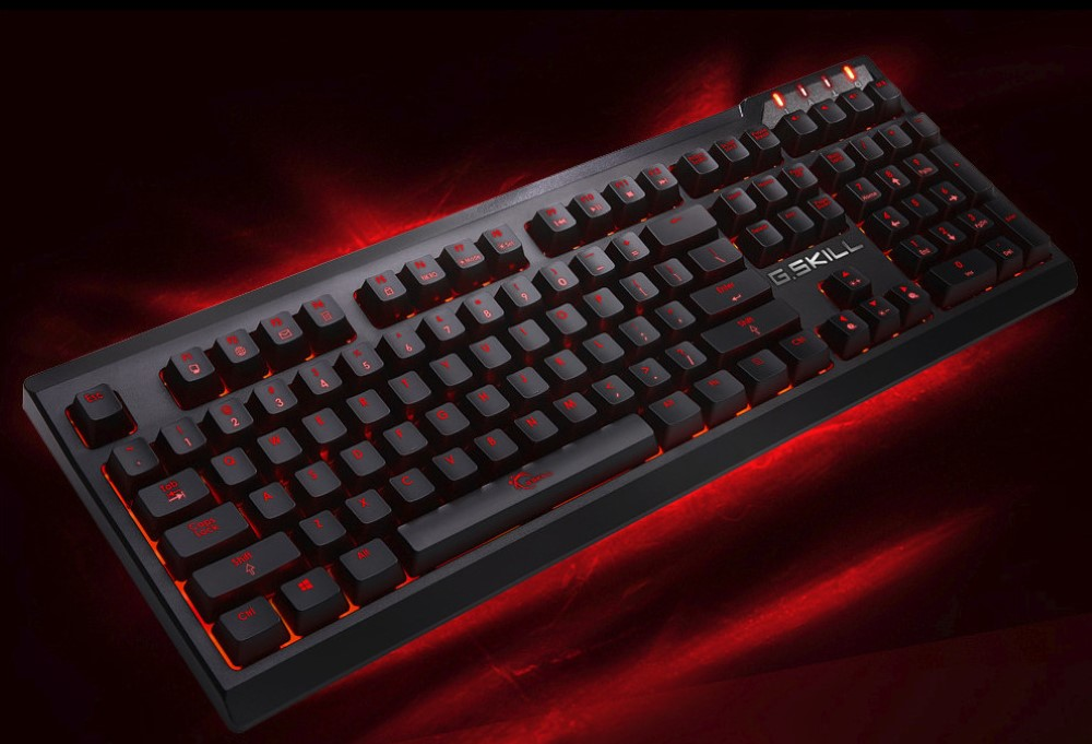 G.Skill releases KM570 and KM870 keyboards with Cherry MX Silver