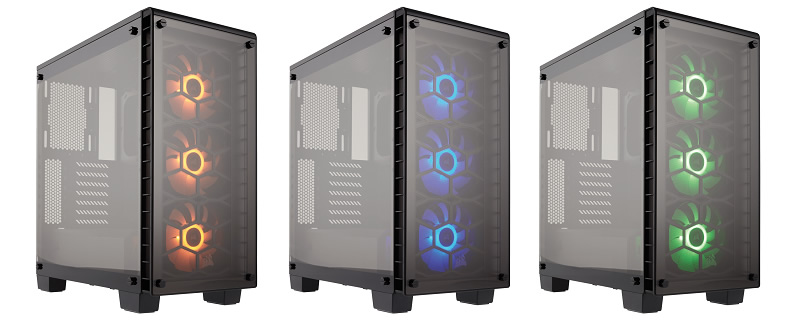 Corsair 460X RGB Tempered Glass case review