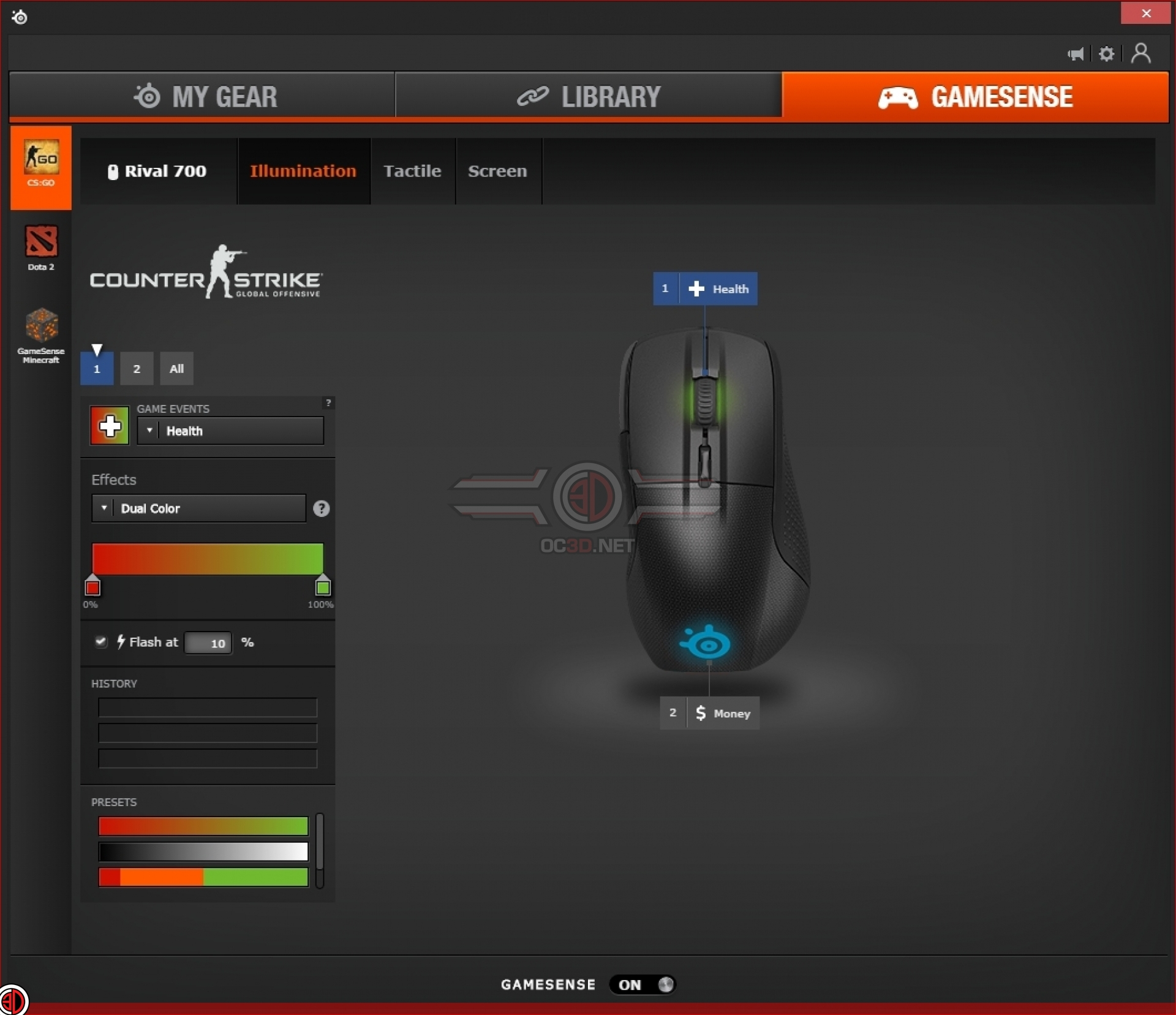 Steelseries Rival 700 Gaming Mouse Review | Software | Input