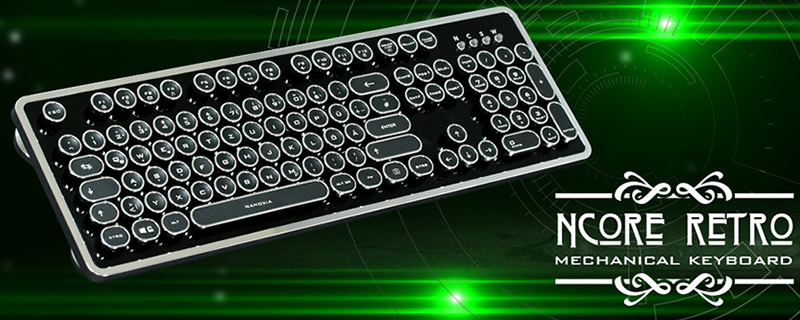 Nanoxia release their Ncore Retro keyboard