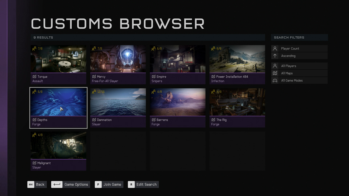 Tomorrow Halo 5 Forge will receive a custom games browser on PC
