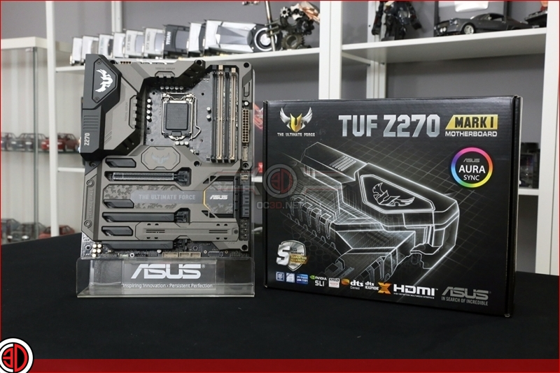 ASUS Z270 TUF Review