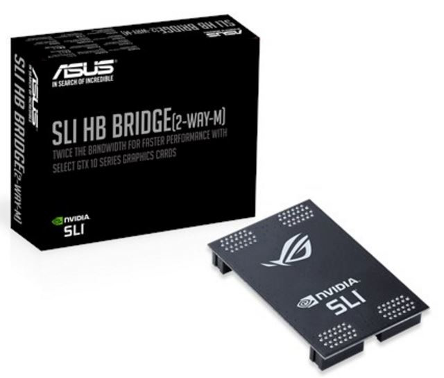 ASUS release low-cost high-bandwidth SLI bridge