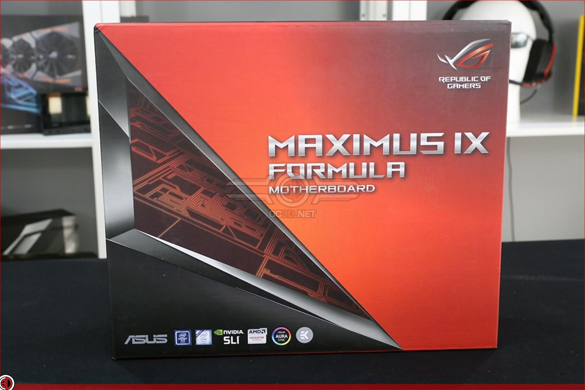ASUS ROG Z270 Maximus IX Code and Formula Review