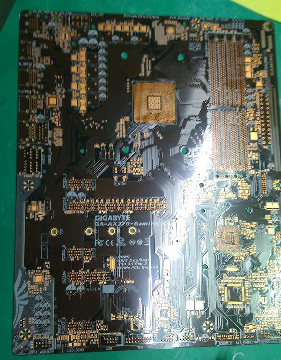 Gigabyte AX370-Gaming K3 AM4 motherboard pictured