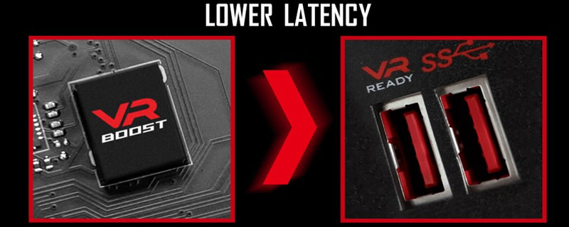 MSI adds VR optimised USB ports on their next generation gaming