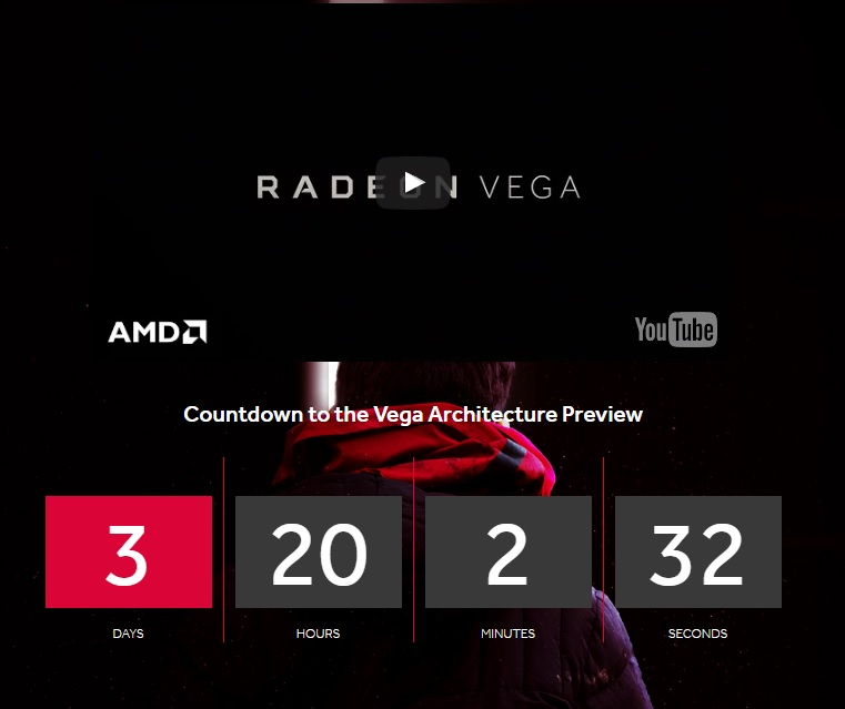 AMD will be delivering an advanced Vega GPU Preview on January 5th