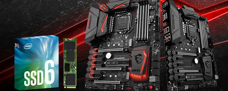MSI reveal Z270 Gaming M7 and M5 NVMe SSD Bundle