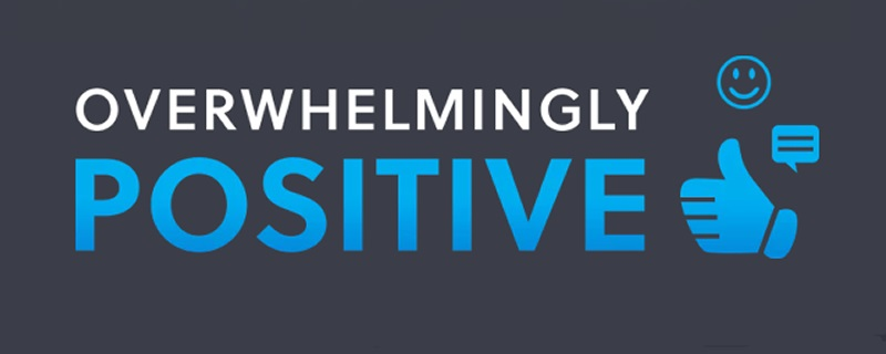 The Humble Overwhelmingly Positive Bundle is now live