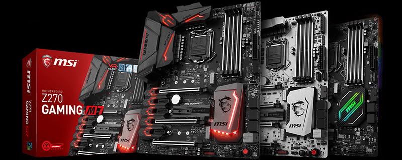 MSI offers cashback to those who review their Z270 series motherboards