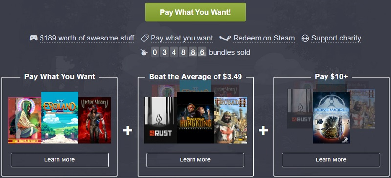 The Humble Best of 2016 Bundle has now started