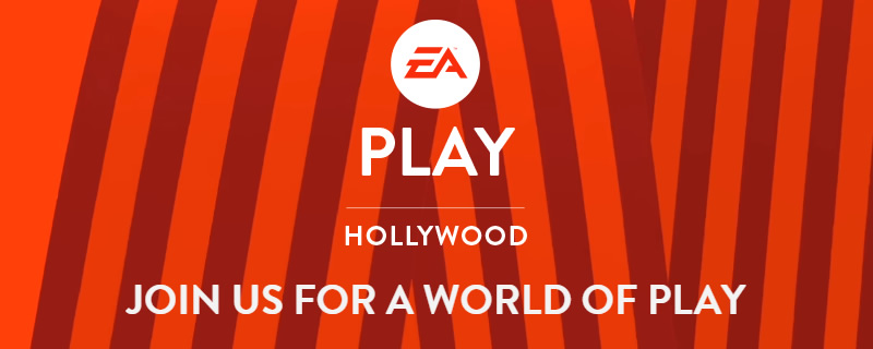 EA will be hosting a standalone EA Play event before E3 2017