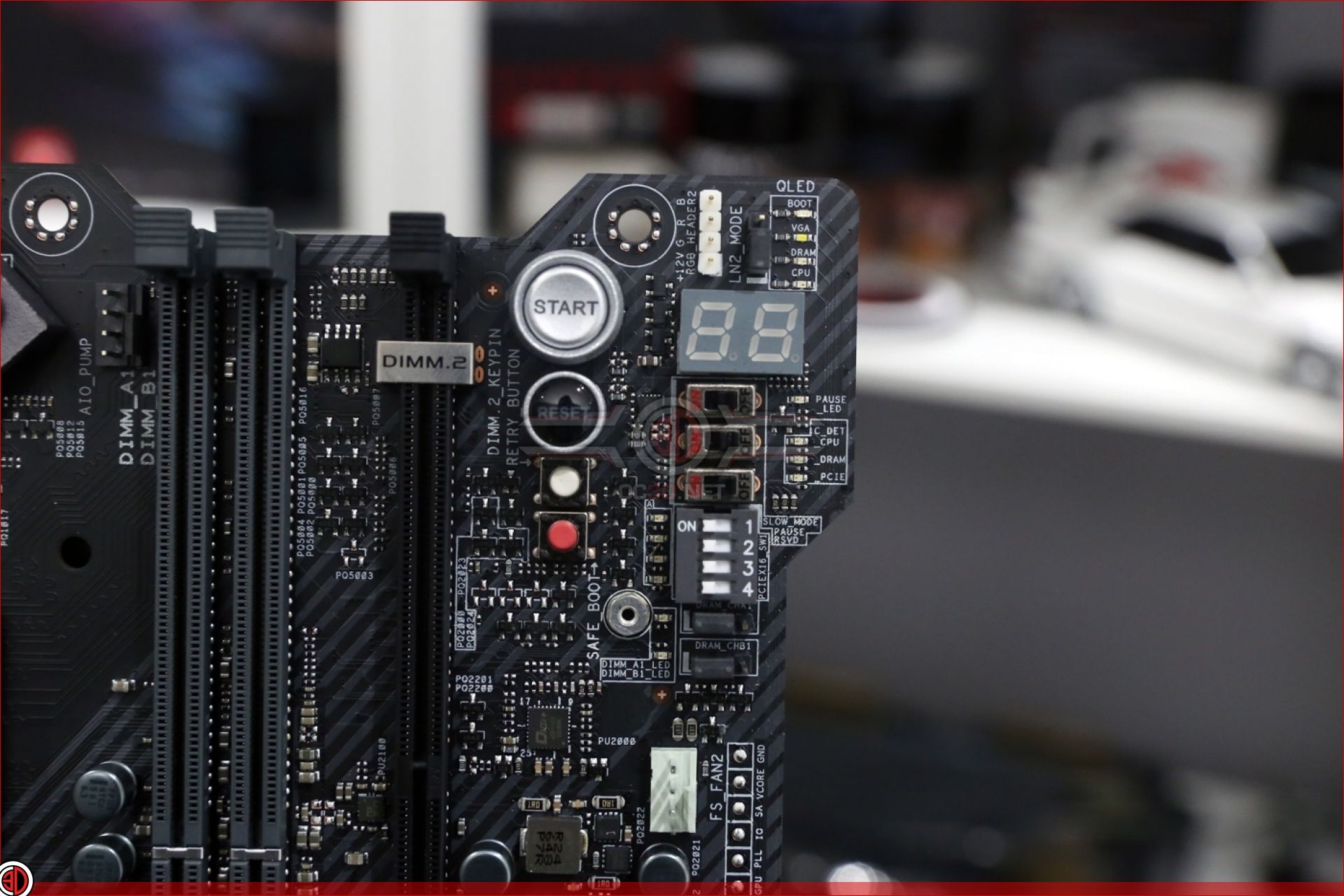 ASUS ROG Maximus IX Apex Motherboard Review | Up Close cont | CPU