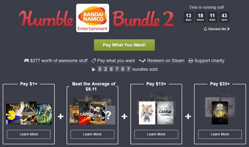The Humble Bandai Namco Bundle is now live | OC3D News