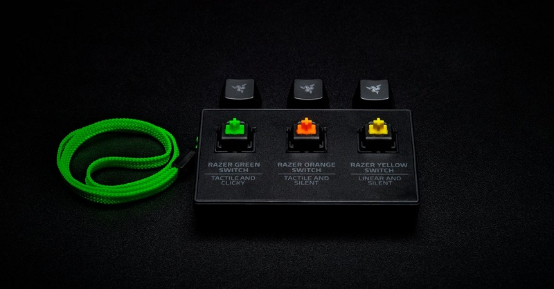 Razer announce their new Yellow Mechanical Keyboard switch