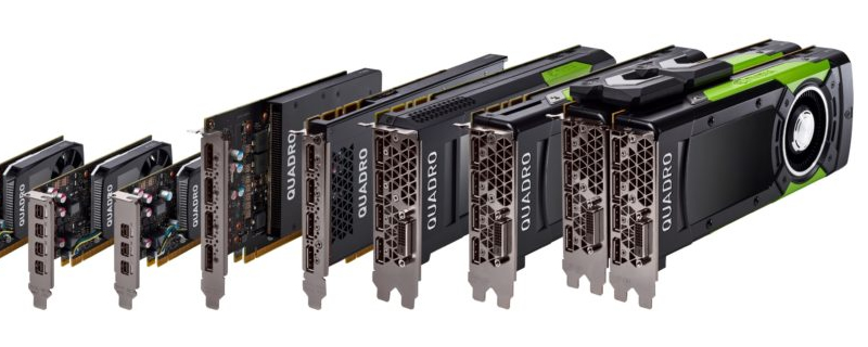 Nvidia announces a new lineup of Pascal-based Quadro GPUs