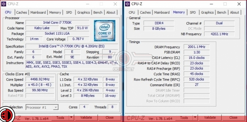 MSI Z270 Gaming M7 Memory Overclock
