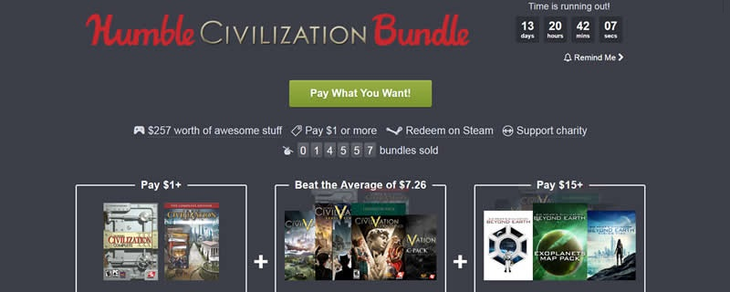 The Humble Civilization Bundle is now live | OC3D News