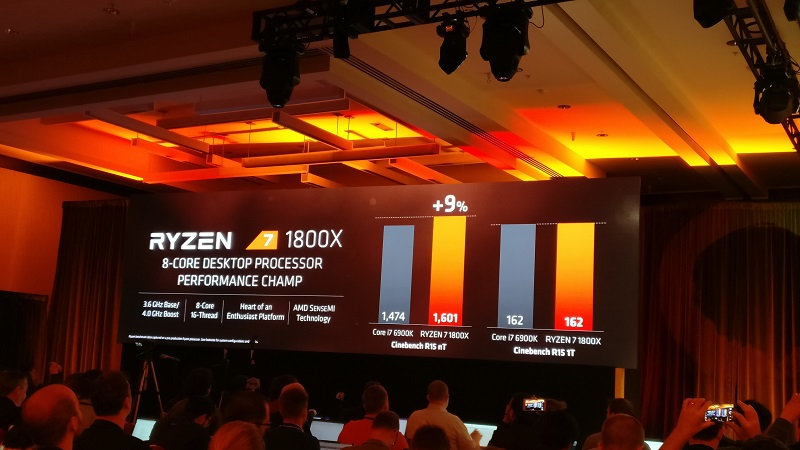 AMD announce their Ryzen 7 series of CPUs