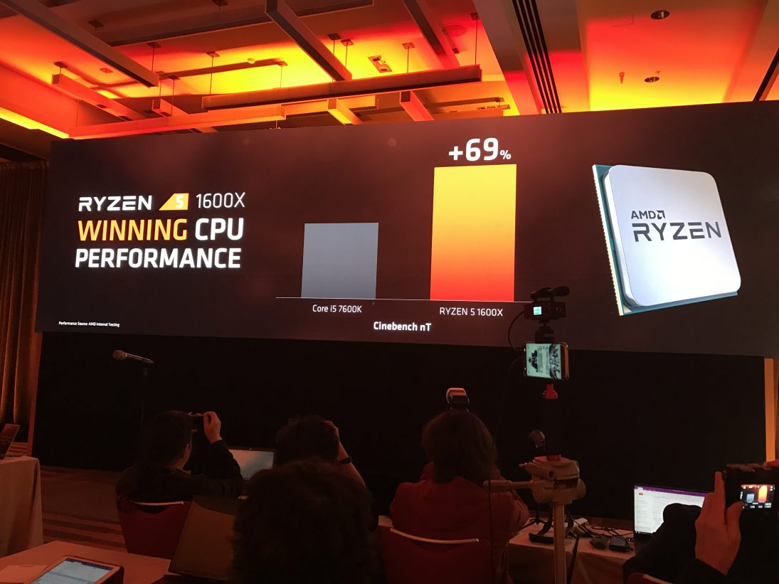 AMD's Ryzen 5 and Ryzen 3 CPUs will release in Q2 and 2H 2017