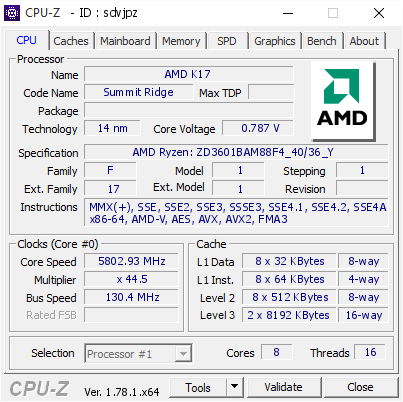 der8auer achieves a world record 5.8GHz overclock on AMD's Ryzen 1800X