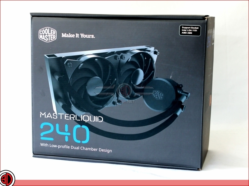 CoolerMaster MasterLiquid 240 AIO Review