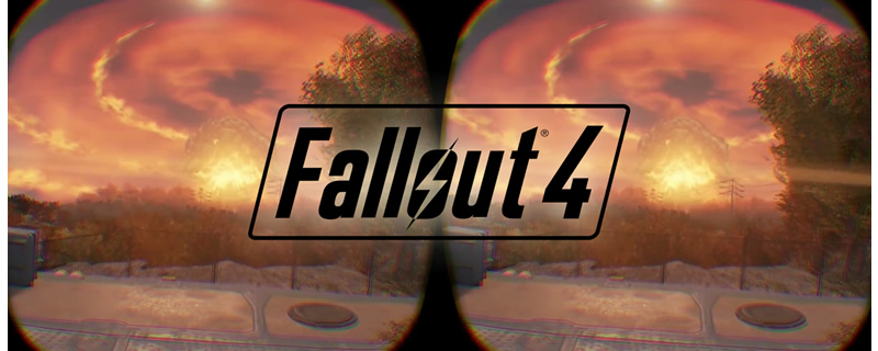 Fallout 4 VR will be playable at E3 2017