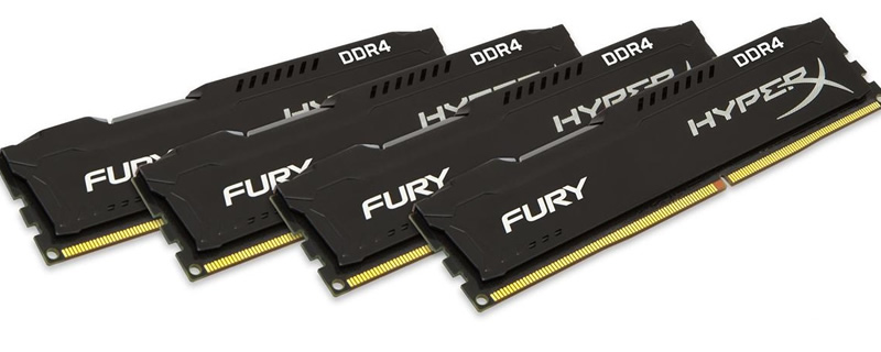 HyperX expands their Fury lineup of DDR4 memory