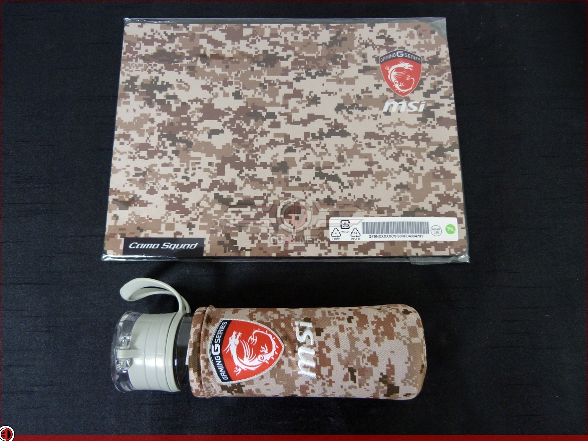 MSI GE62 7RE Camo Squad Review | Up Close - Packaging and
