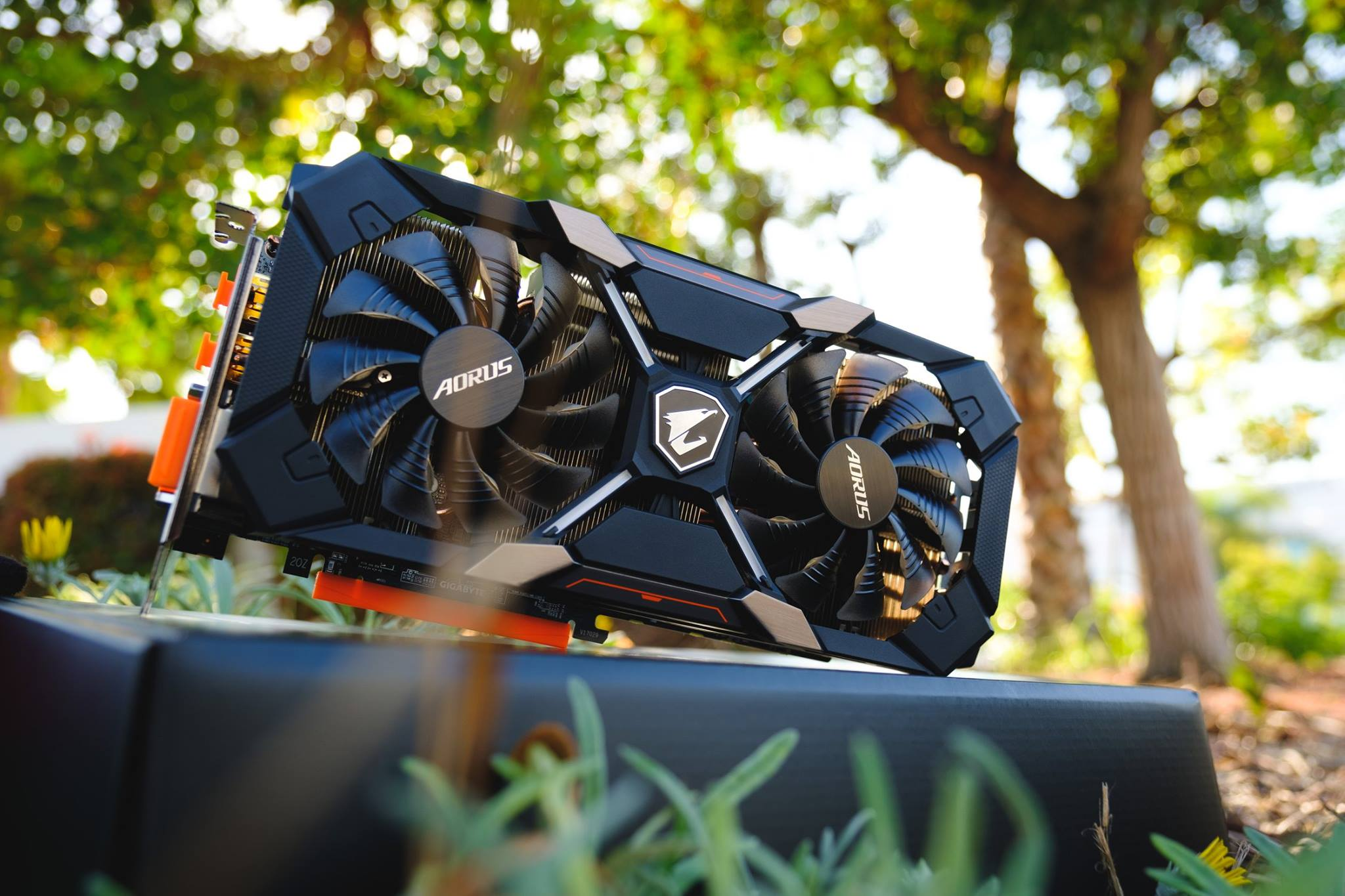 Gigabyte's RX 580 Aorus has been pictured