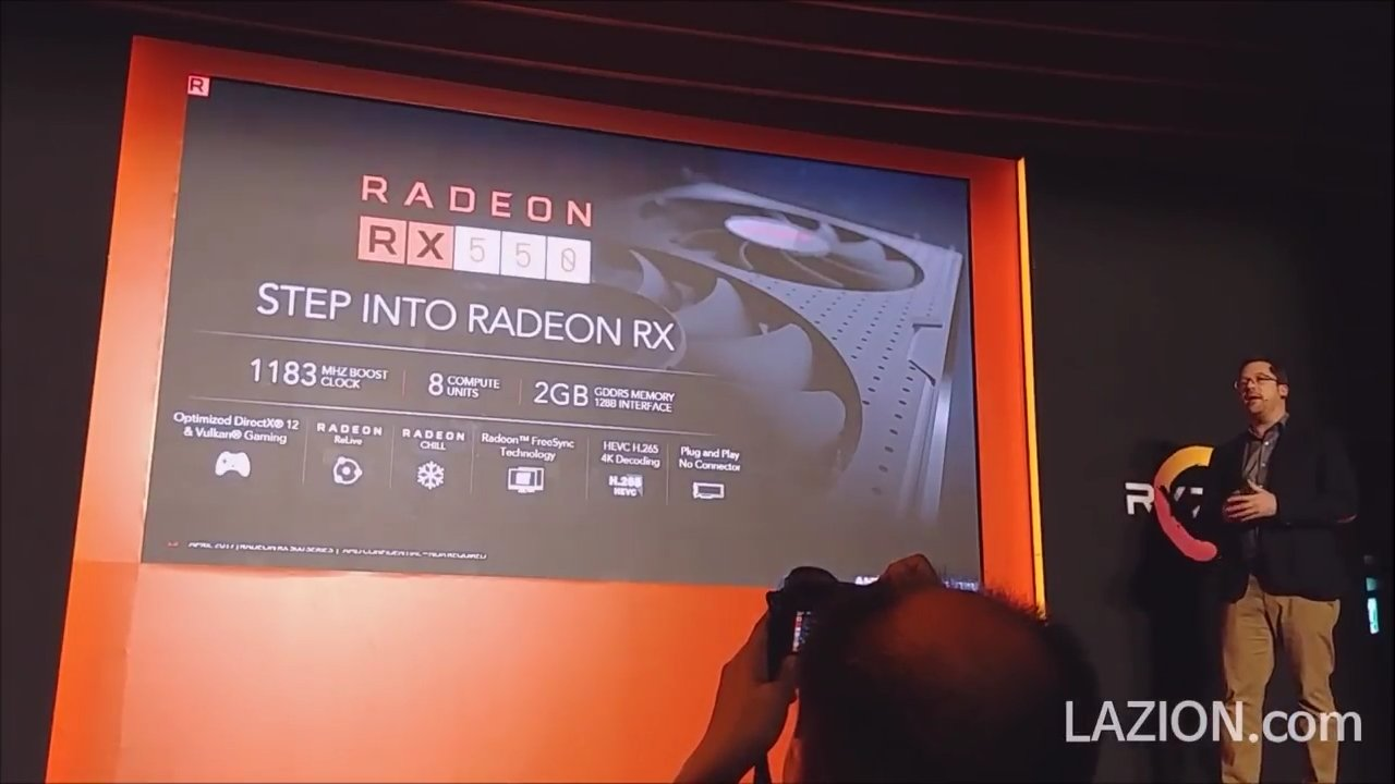 RX 500 reference clock speeds and specifications have been leaked