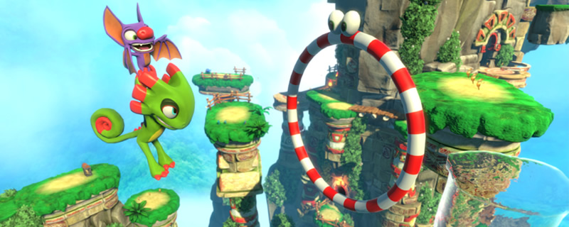 Modders add VR support to Yooka-Laylee