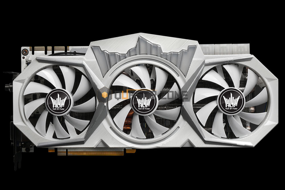 Galax's GTX 1080 Ti Hall of Fame has been pictured