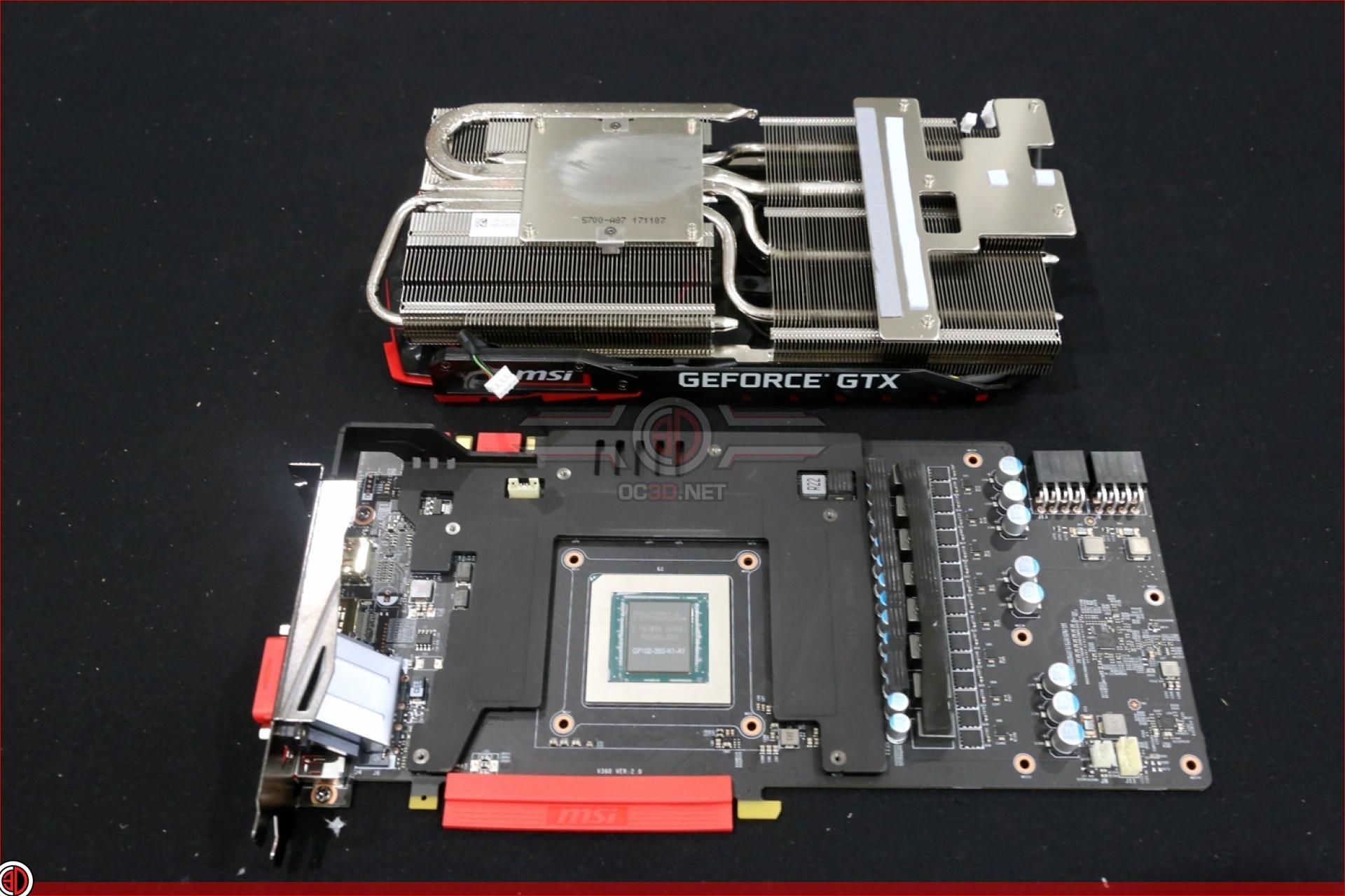MSI GTX 1080 Ti Gaming X Mini Review | Nakedness | GPU & Displays