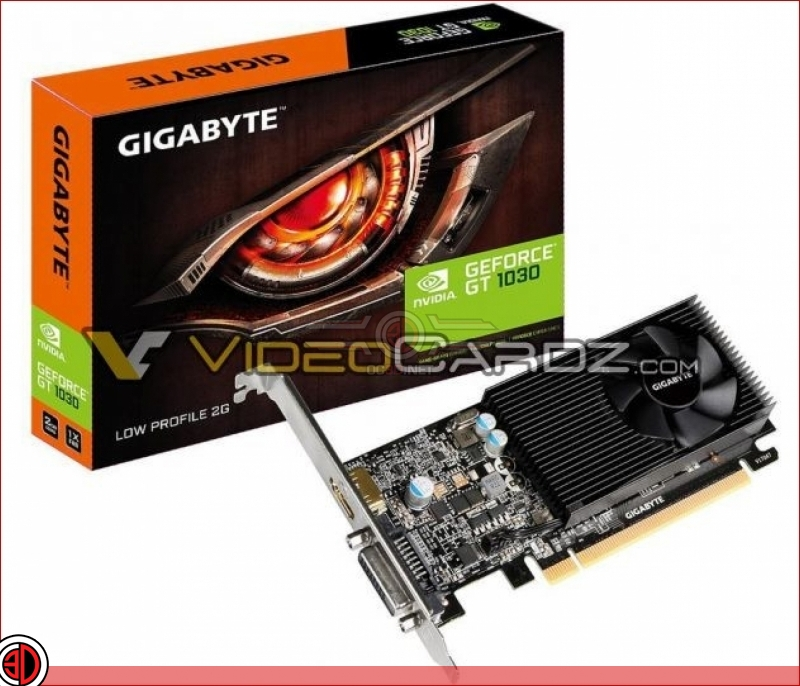 Several aftermarket Nvidia GT 1030 GPU designs have leaked online