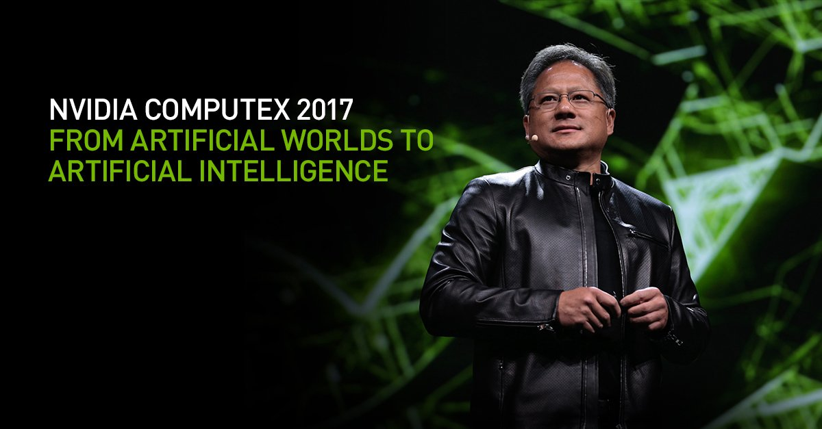 Nvidia will be hosting their Computex keynote tonight