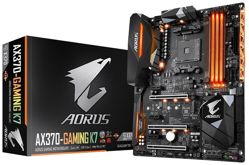 Gigabyte release a range of AGESA 1.0.0.6 BIOS updates for their AM4 motherboards