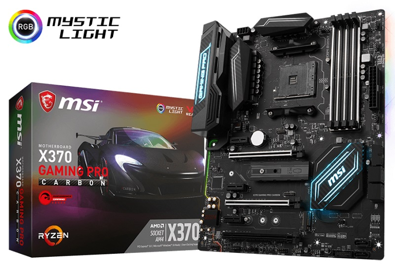 MSI releases AGESA 1.0.0.6 BIOS updates for several X370 motherboards