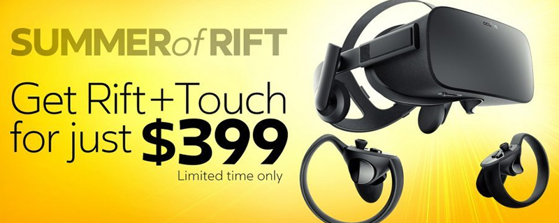 57ec1d0e813 Oculus reduces Rift + Touch bundle pricing by £200 in the UK