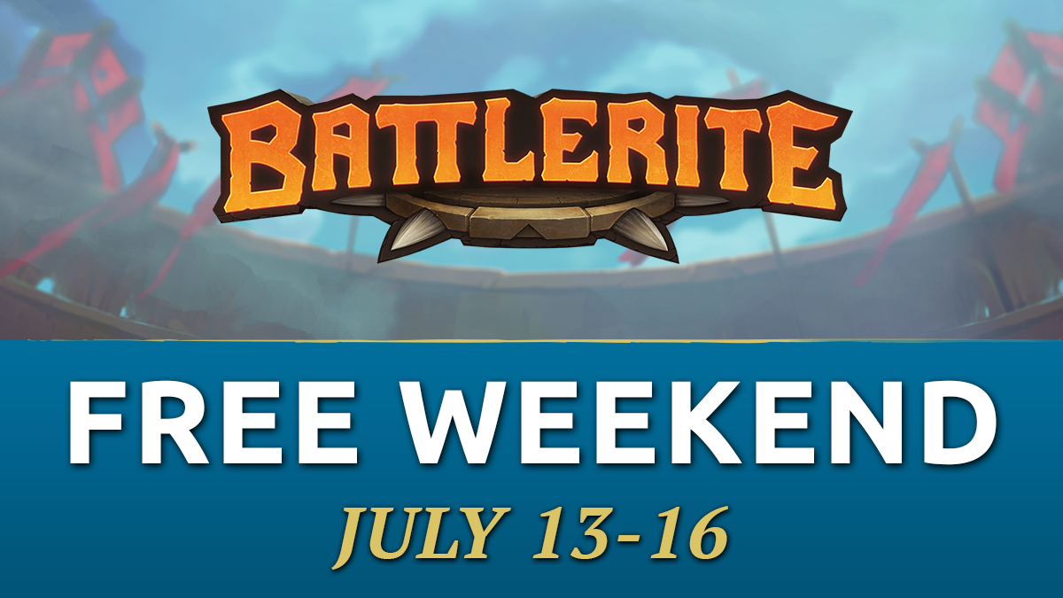 Battlerite is available to play for free this weekend