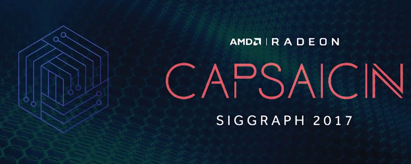 AMD's Capsaicin Siggraph 2017 VOD is now available to view