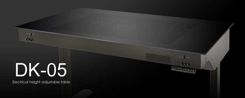 Lian Li DK-05 desk/chassis hybrid has been officially released