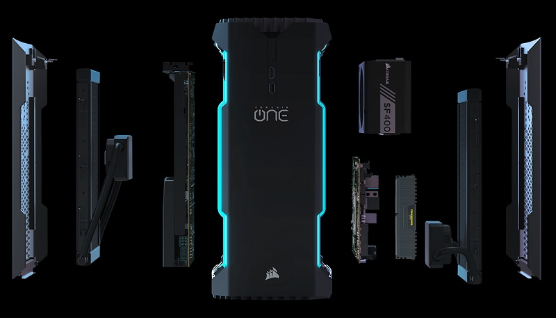 Corsair releases higher spec versions of their Corsair One system