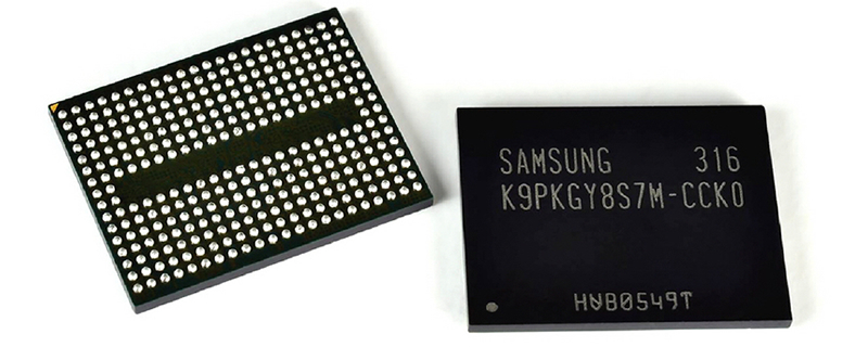 Samsung announced 1Tb V-NAND chips